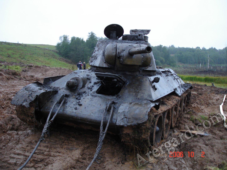 История советского оружия: «Огнемётный танк» - ОТ-34